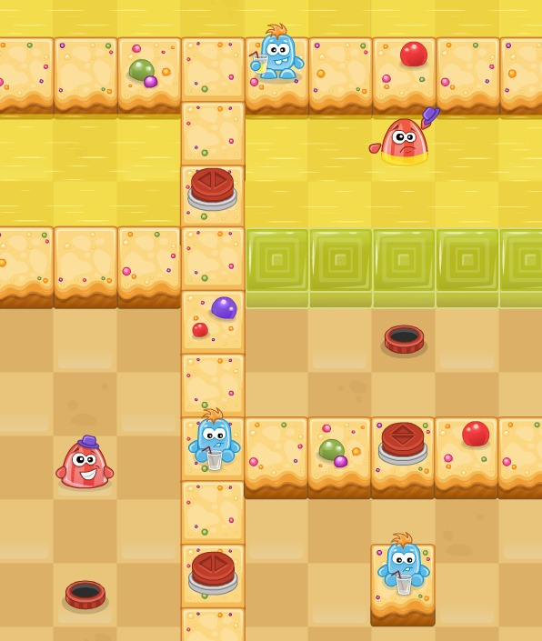 Candy Land - puzzle HTML5 game by Liquid Rainbow