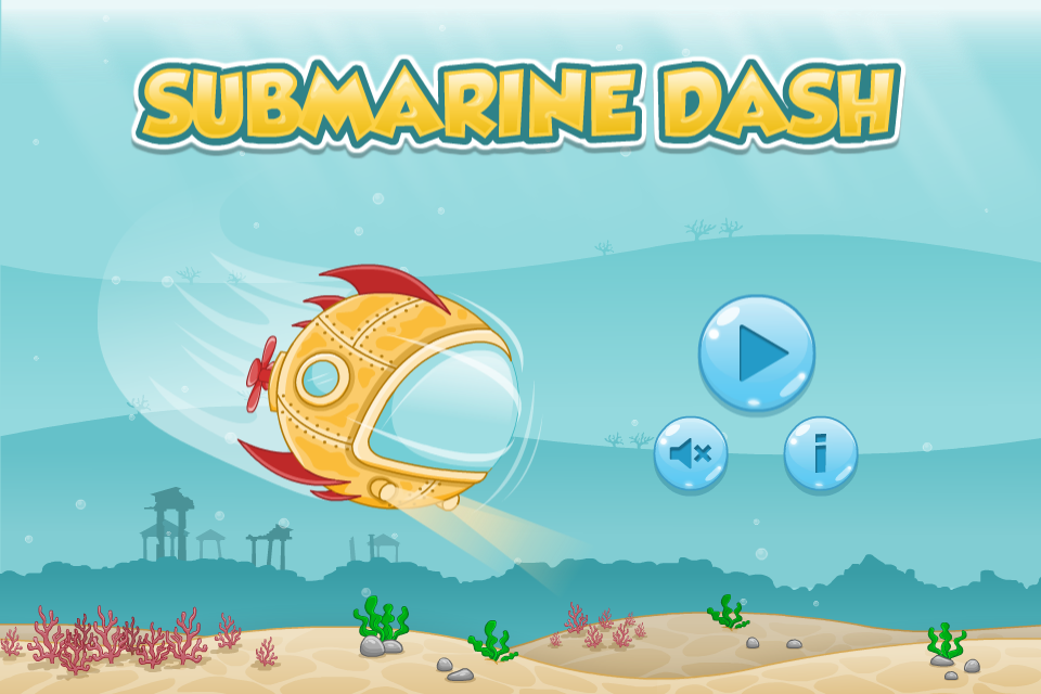 Sumarine Dash Main Menu