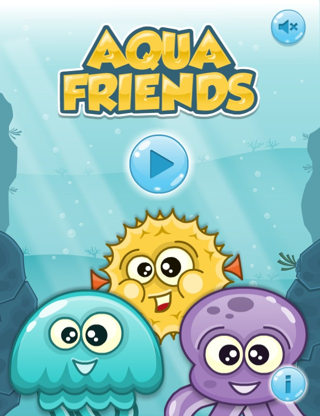Aqua Friends Main Menu