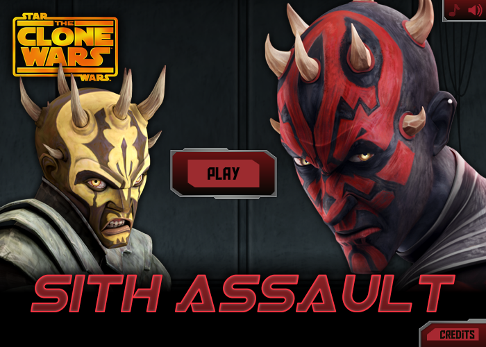 Sith Assault - online flash game by RoboWhale