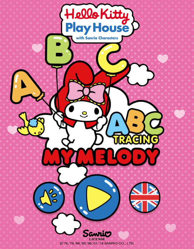 MyMelody ABC Tracing - educational game by RoboWhale