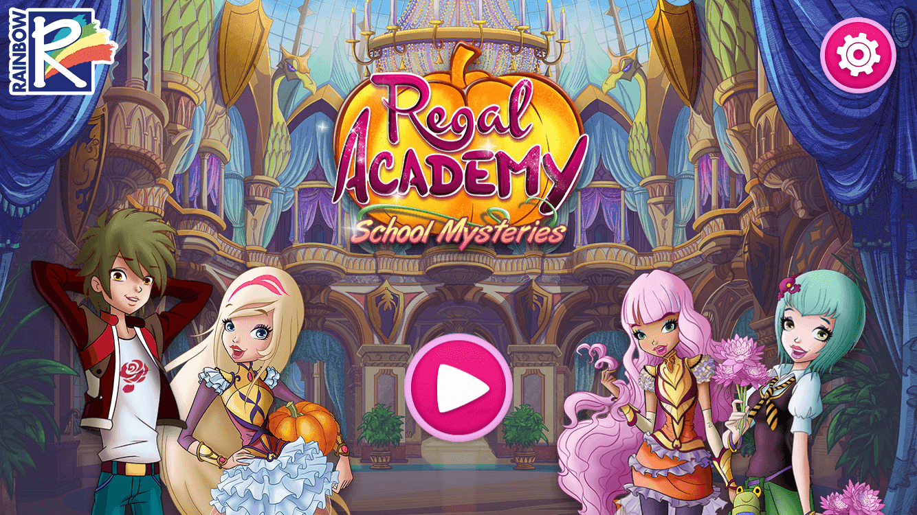 Regal Academy School Mysteries - hidden object HTML5 game by RoboWhale
