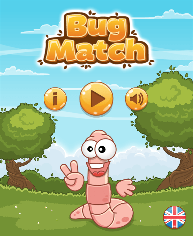 Bug Match - Main Menu