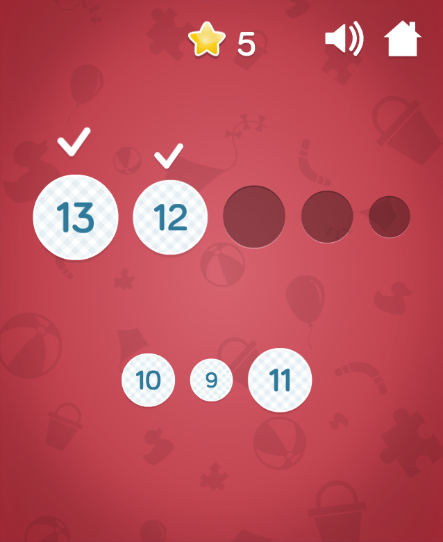 Drawing Numbers - learning HTML5 game for kids
